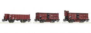 Roco 76060 Güterwagen-Set 3-tlg. KPEV | DC | Spur H0 kaufen