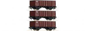 Roco 76062 Güterwagen-Set 3-tlg. GTOW NS | DC | Spur H0 kaufen
