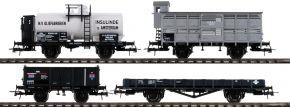 Roco 76077 Güterwagen Set 4-tlg. | DC | Spur H0 kaufen