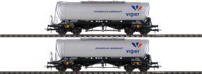 Roco 76084 2-tlg. Set Silowagen Vigier Cement | DC | Spur H0 kaufen