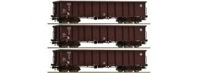 Roco 76091 Güterwagen-Set 3-tlg. Eanos HZ Cargo | DC | Spur H0 kaufen