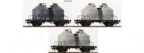 Roco 76093 Silowagen DB | Set 3-tlg | DC | Spur H0 kaufen