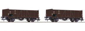 Roco 76106 2-tlg. Set Offene Güterwagen | ÖBB | DC | Spur H0 kaufen