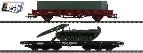 Roco 76129 Güterwagen-Set 2-tlg. Panzertransport DB | DC | Spur H0 kaufen