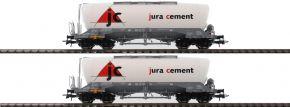 Roco 76146 Silowagen-Set 2-tlg. Uacns jura cement | DC | Spur H0 kaufen