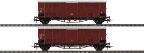 Roco 76164 Spitzdachwagen-Set 2-tlg. FS | DC | Spur H0 kaufen