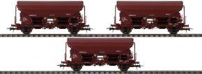 Roco 76177 3-tlg. Set Schwenkdachwagen Tds der ZSSK | Spur H0 kaufen