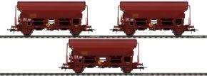 Roco 76178 3-tlg. Set Schwenkdachwagen Tds der SNCF | braun | Spur H0 kaufen