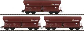 Roco 76187 Selbstentladewagen 3-er Set | Captrain | Exclusiv | Spur H0 kaufen