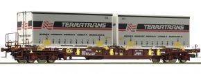 Roco 76228 Taschenwagen T3 Sdgmns 33 AAE | Spur H0 kaufen