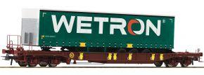 Roco 76232 Taschenwagen T3 m. Wetron Auflieger AAE | DC | Spur H0 kaufen