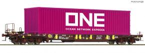 Roco 76234 Taschenwagen T3 AAE, ONE Container | DC | Spur H0 kaufen