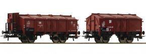 Roco 76306 Klappdeckelwagen-Set 2-tlg. K DR | Spur H0 kaufen