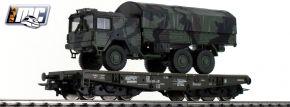Roco 76394 Schwerlastwagen mit MAN 6x6 Bundeswehr DB AG | Spur H0 kaufen