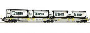 Roco 76427 Gelenktaschenwagen T2000 Rinnen AAE | DC | Spur H0 kaufen
