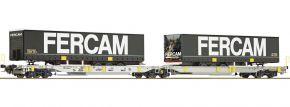Roco 76435 Doppeltaschenwagen T2000 Fercam AAE | DC | Spur H0 kaufen