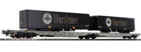 Roco 76436 Doppeltaschen-Gelenkwagen Brauerei Warsteiner AAE | DC | Spur H0 kaufen