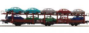 Roco 76459 Autotransportwagen Laes 543 mit VW DB | DC | Spur H0 kaufen