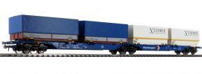 Roco 76633 Doppeltragewagen Sggmrs DB | DC | Spur H0 kaufen