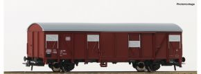 Roco 76674 Gedeckter Güterwagen DB | DC | Spur H0 kaufen