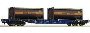 Roco 76737 Containertragwagen Spedition Bertschi CEMAT | DC | Spur H0 kaufen