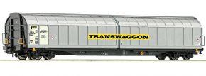 Roco 76738 Schiebewandwagen Habbiins Transwaggon | DC | Spur H0