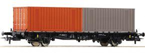 Roco 76787 Containertragwagen Lgjs 598 DR | DC | Spur H0 kaufen