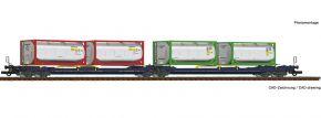 Roco 77388 Doppeltaschen-Gelenkwagen T3000e CEMAT | DC | Spur H0 kaufen