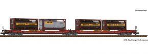 Roco 77389 Doppeltaschen-Gelenkwagen T3000e Bertschi ÖBB | DC | Spur H0 kaufen