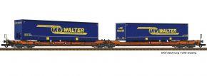 Roco 77393 Doppeltaschen-Gelenkwagen T3000e LKW Walter Wascosa | DC | Spur H0 kaufen