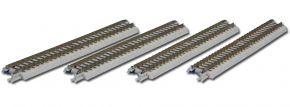 ROKUHAN 7297001 Gleis gerade, 110 mm | mit Anschlussblende | 4 Stück | Spur Z kaufen