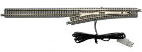 ROKUHAN 7297039 E-Weiche links R490-13° 110mm | Spur Z kaufen