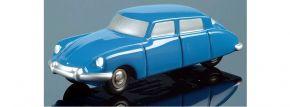 Schuco 05001 Piccolo Citroen DS19 blau Automodell 1:90 | B-WARE kaufen