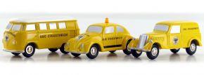 Schuco 05217 Piccolo-Set 100 Jahre ADAC 3 Modelle 1:90 | B-WARE kaufen