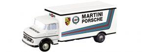 Schuco Piccolo 05864 Mercedes-Benz L322 MARTINI Porsche Racing LKW-Modell 1:90 kaufen