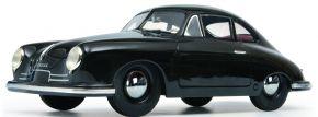 Schuco 450025200 Porsche 356 Gmünd, schwarz | Modellauto 1:18 kaufen