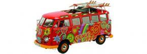 Schuco 450028300 VW T1 Samba Hippie Flower Power | Automodell 1:18 kaufen