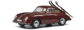 Schuco 450030000 Porsche 356A Skiurlaub | Modellauto 1:18 kaufen