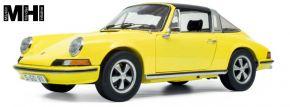 Schuco 450036400 Porsche 911 S Targa, gelb | MHI Edition | Modellauto 1:18 kaufen
