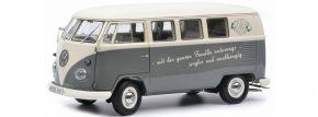 Schuco 450037700 VW T1b mit Slogan | Modellauto 1:18 kaufen