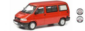 Schuco 450042000 VW T4b Camper rot | Modellauto 1:18 kaufen