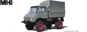 Schuco 450044600 Unimog 406 Pritsche/Plane   MHI   LKW-Modell 1:18 kaufen