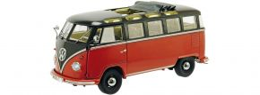 Schuco 450051200 VW T1b Samba schwarz/rot | Modellauto 1:8 kaufen