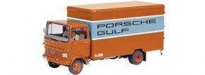 Schuco 450352400 MB LP 608 Porsche Gulf LKW-Modell 1:43 kaufen