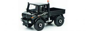 Schuco 450772300 Mercedes Benz Unimog U1600 schwarz | Landwirtschaftsmodell 1:32 kaufen