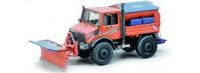 ausverkauft   Schuco 450772400 Unimog U1600 Winterdienst   LKW-Modell 1:32 kaufen