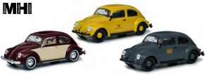 Schuco 450774200 3-tlg. Set VW Käfer | MHI Edition | Modellautos 1:32 kaufen