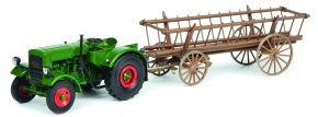 Schuco 450782000 Deutz F3 m.Leiterwagen | Traktormodell 1:32 kaufen