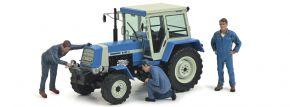 Schuco 450782600 Fortschritt ZT 323 + 3 Figuren | Traktor-Modell 1:32 kaufen
