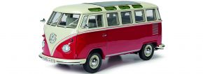 Schuco 450785200 VW T1 Samba Bus rot | Automodell 1:32 kaufen